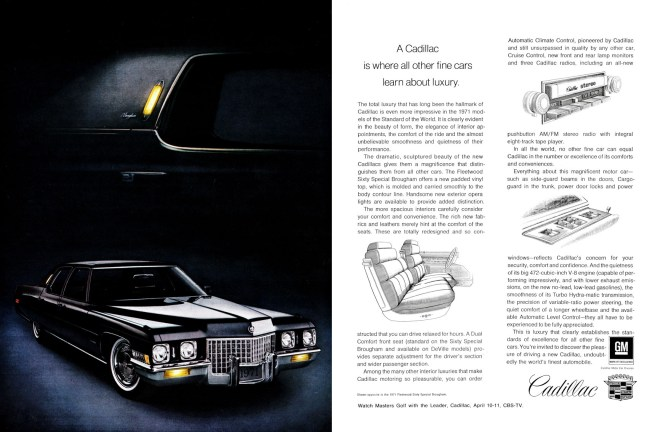 1971 Cadillac ad