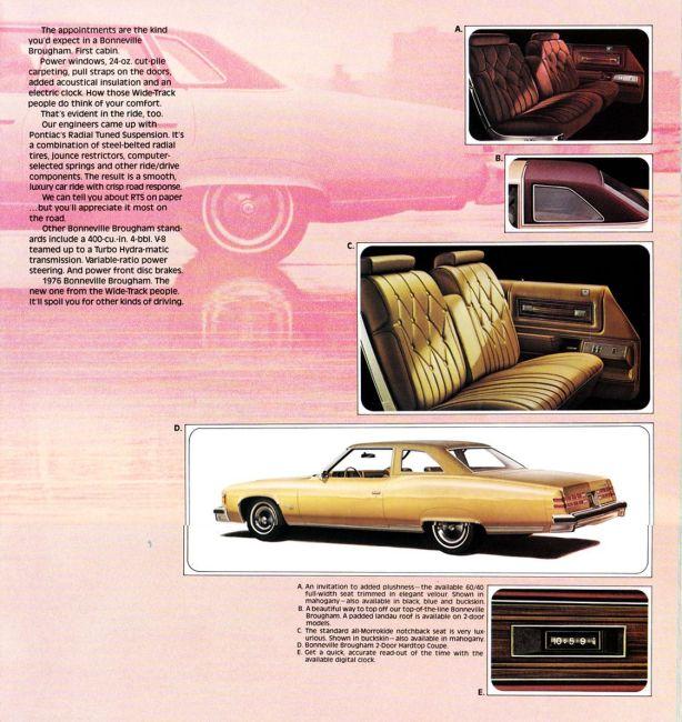 Bonneville Brougham brochure