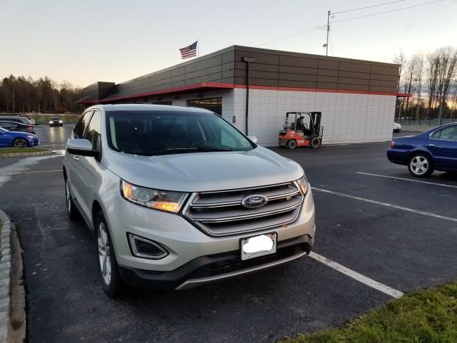 Review  Ford Edge Titanium