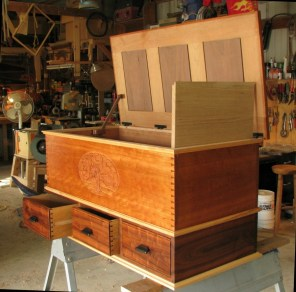 Hope Chest (Cherry, Walnut and Maple)