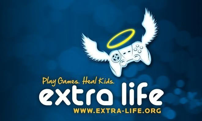 16-hour (At Least) Extra Life Twitch Stream on 11/13