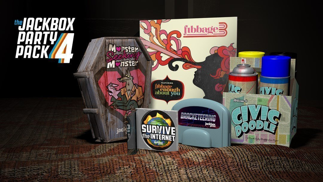 Breaking: The Jackbox Party Pack 4 Launching the Week of October 17