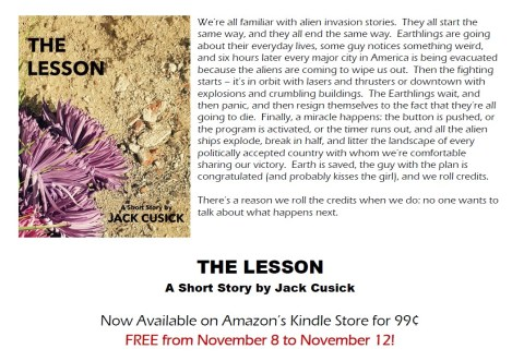The Lesson Advert 3
