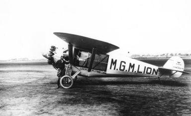 Jackie the Lion's plane