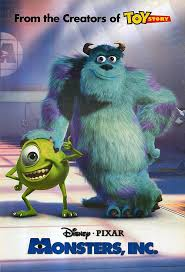 Monster's Inc poster