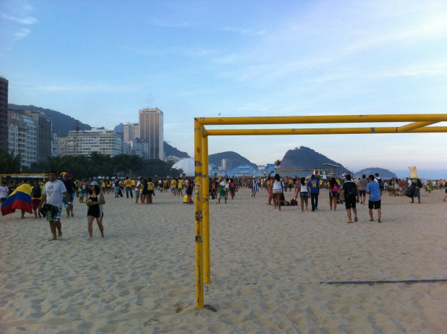 Copacabana: Home of beach football