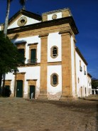 Colonial buildings in Paraty's old town