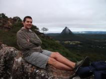 Chilling atop Mount Ngungun