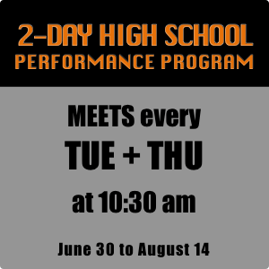 2020 2day High School Performance Program
