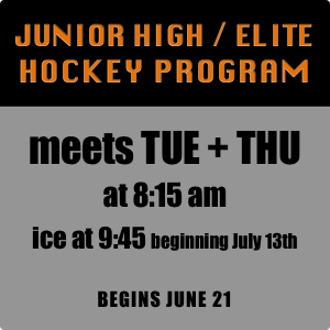 Junior High Elite Hockey Program
