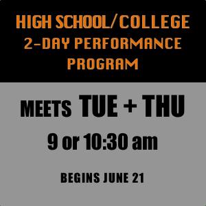 High School-College 2-Day Program