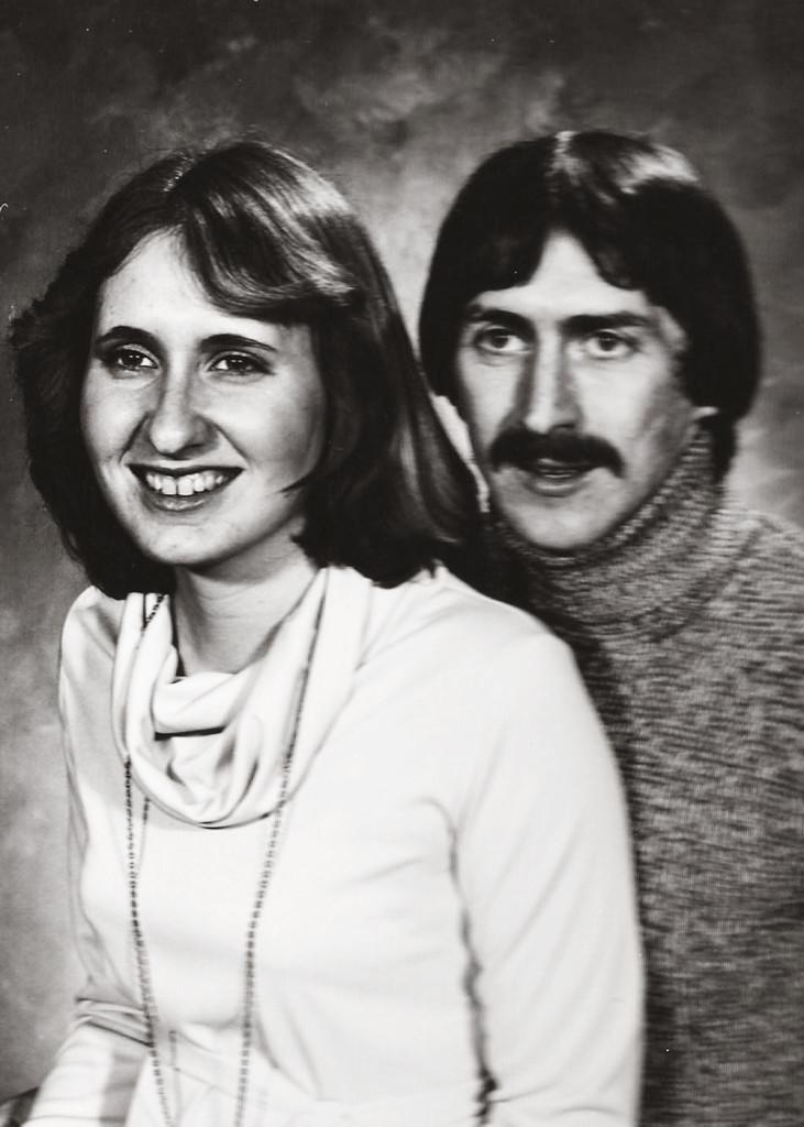 My parents' engagement photo.