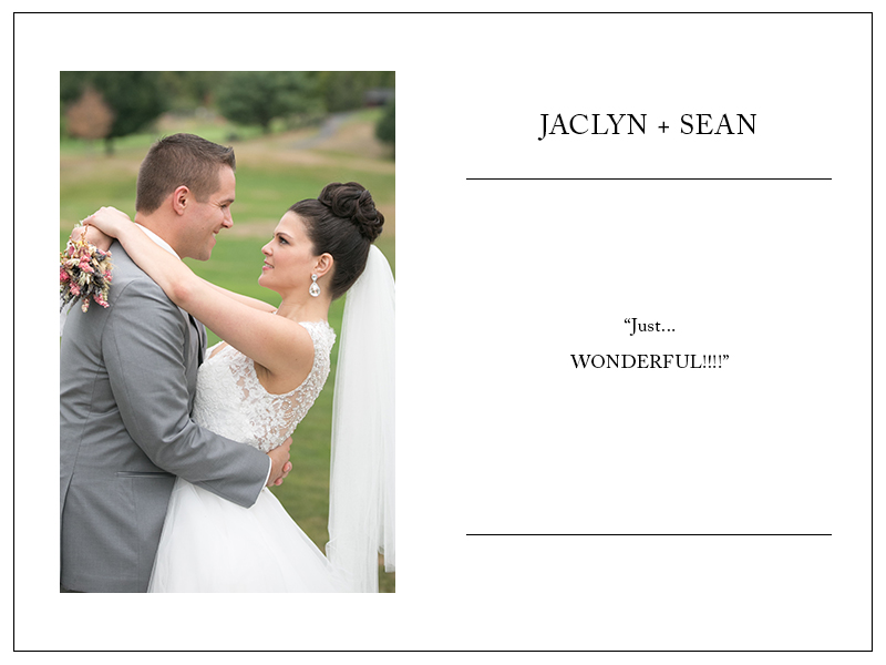 Review by Jaclyn & Sean - 5 Stars!