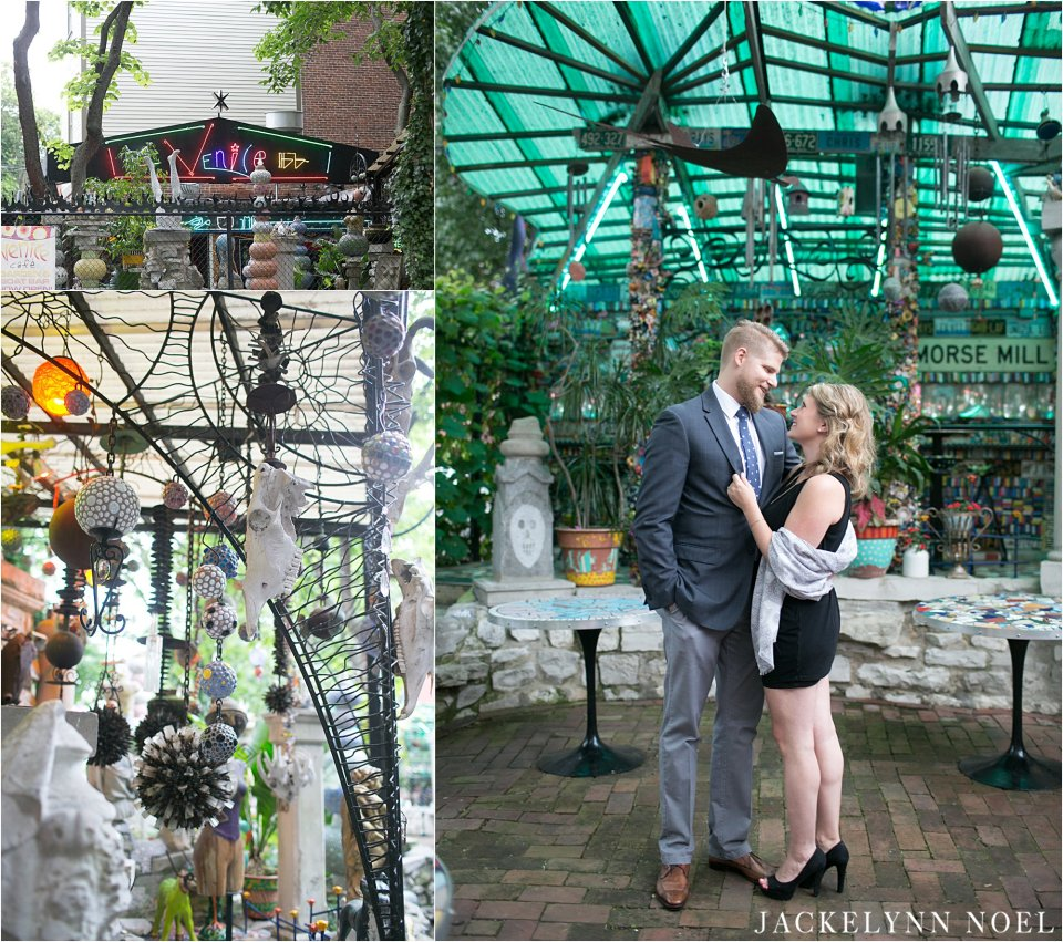 Venice Cafe St. Louis Engagement Session - Jackelynn Noel Photography