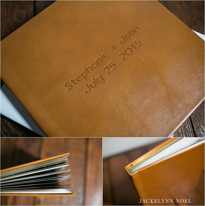 Jackelynn Noel Photography - Miller's Signature Leather Album