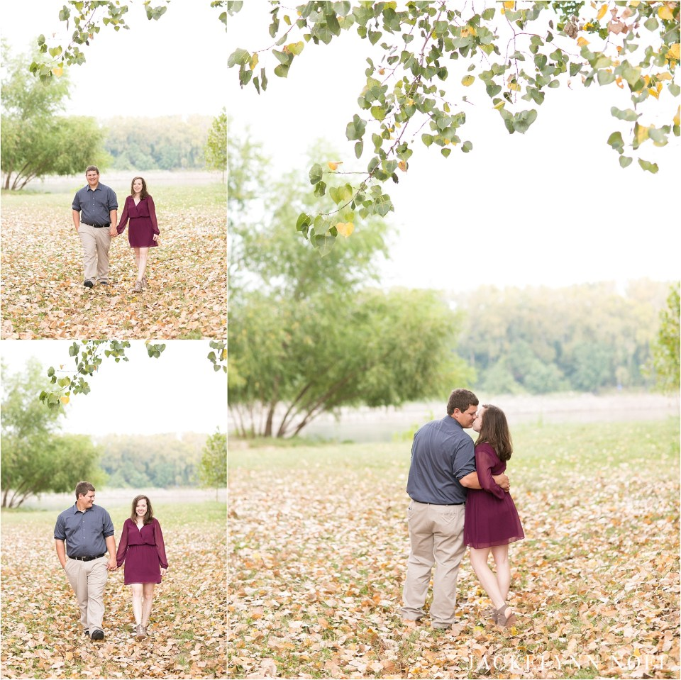 Joey and Jack Engaged in St. Charles by Jackelynn Noel Photography