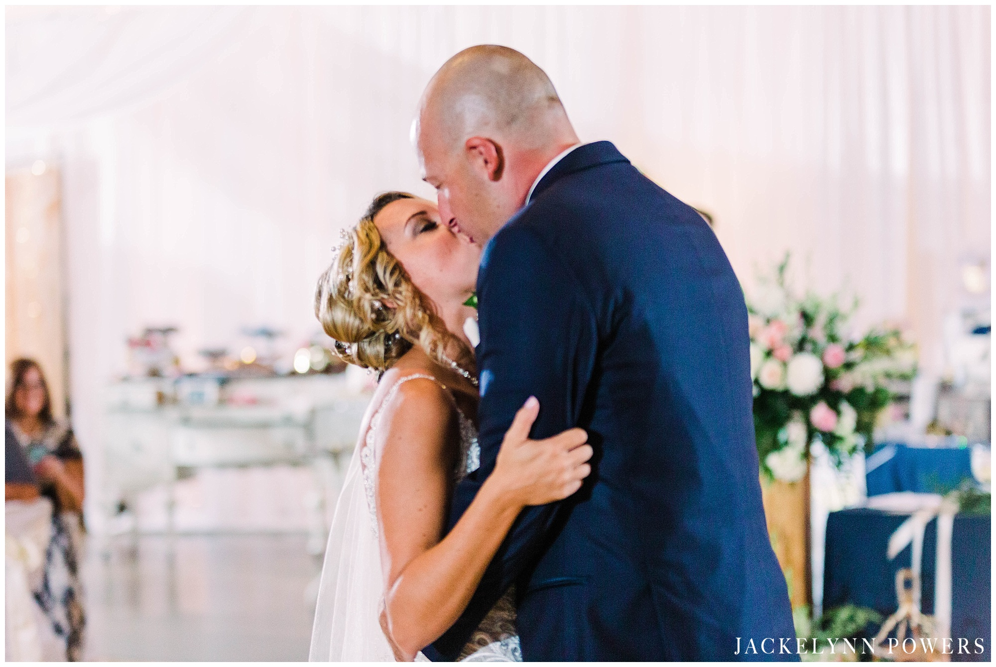 VFW in Collinsville Wedding Reception, St. Louis Wedding Photographer, Jackelynn Noel Photography