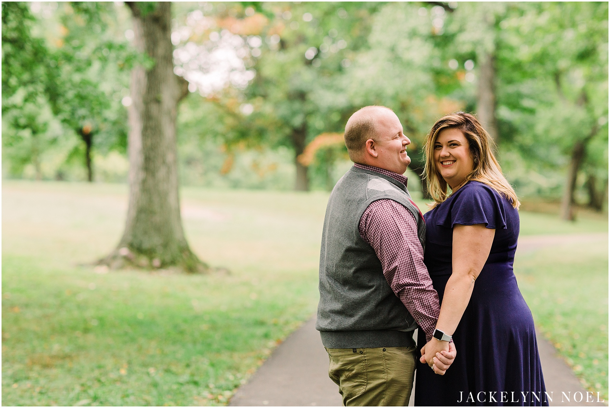 Heather & Tyler Engagement Session at Lafayette Park by Jackelynn Noel Photography