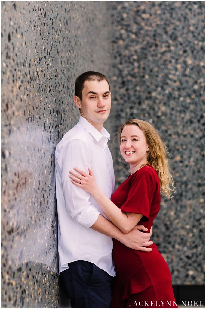 Kristen & Kamal - St. Louis Engagement Photography - Jackelynn Noel Photography