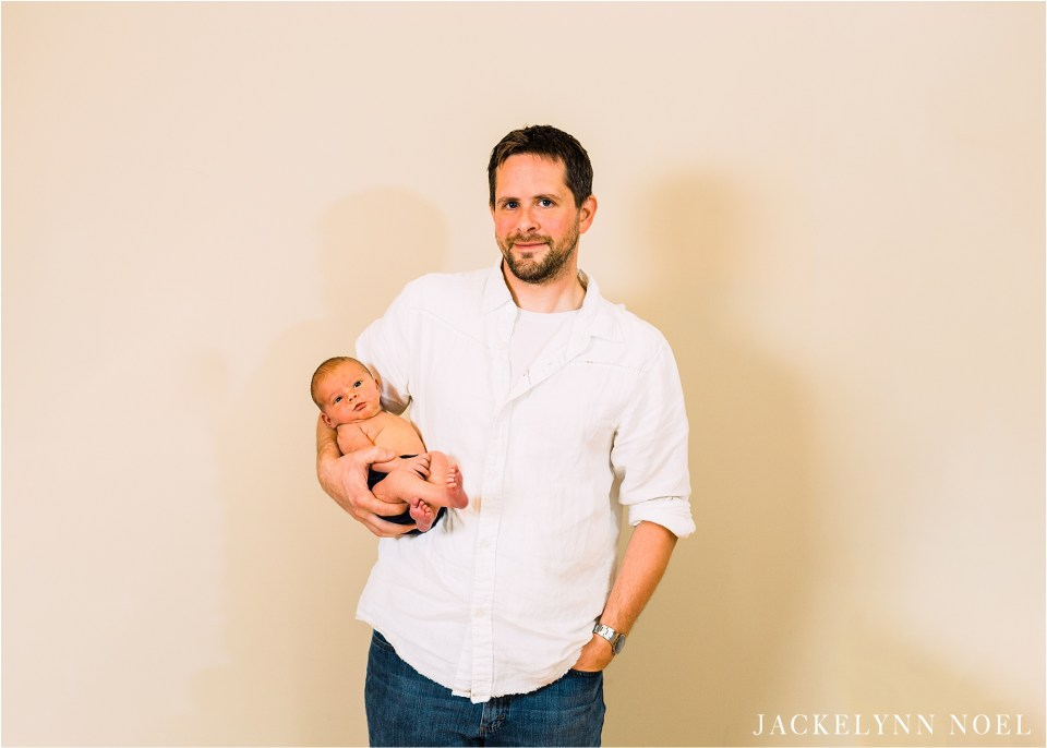 Newborn session in home in St. Charles, Missouri