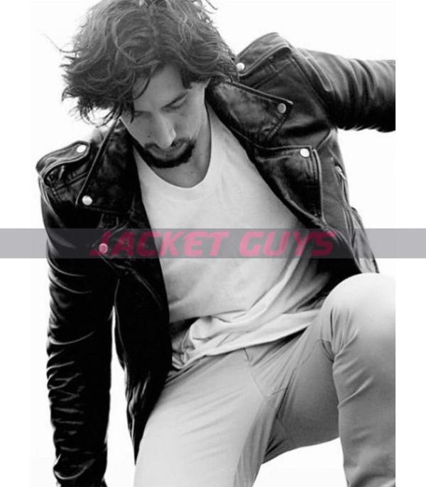 adam driver leather jacket on sale