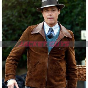 for sale brad pitt suede jacket