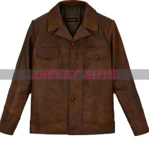 for sale once upon a time in hollywood leather jacket on sale