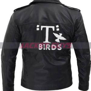 mens tbird leather jacket on discount