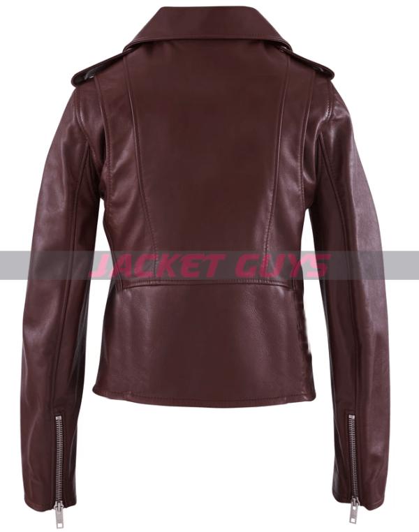 for sale women's biker leather jacket