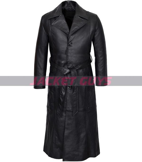 shop now wesley snipes blade leather coat