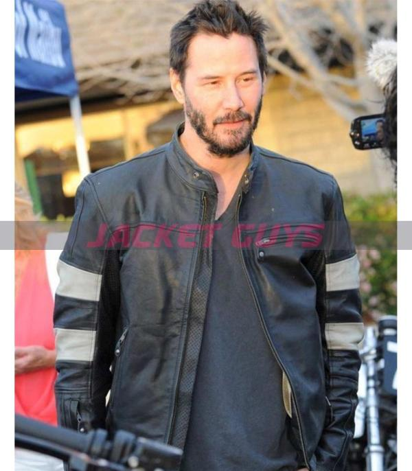 get now john wick 2 cafe racer leather jacket