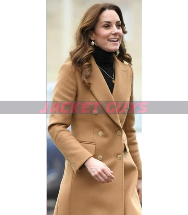 on sale long wool coat wore by kate middleton