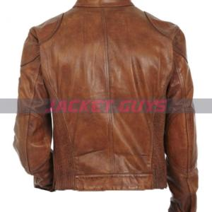 on discount men's motorcycle leather jacket