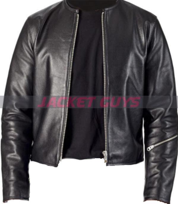 for sale slim fit summer leather jacket