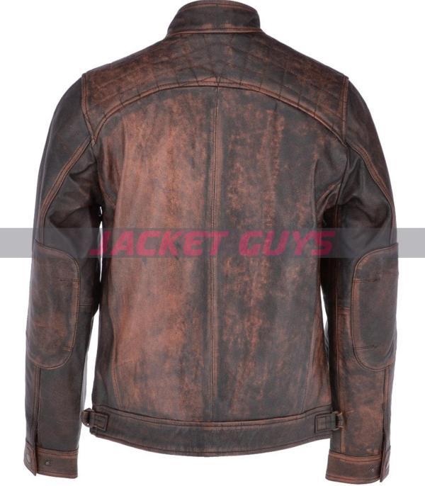 men rusty bronx leather jacket get now