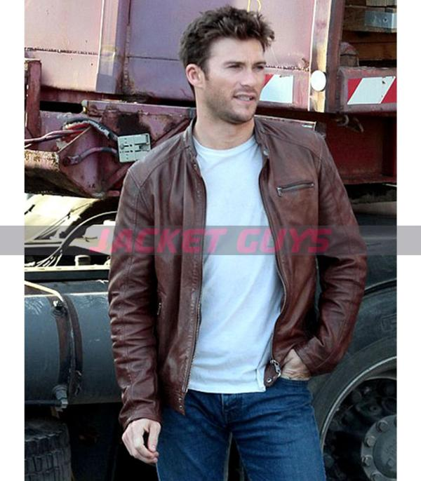 buy now scott eastwood leather jacket from overdrive