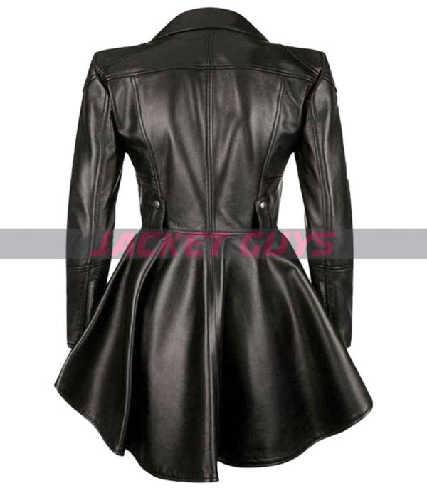 on discount allison umbrella academy leather jacket