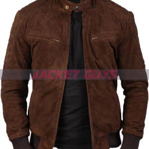 shop mens dark brown suede leather buy now