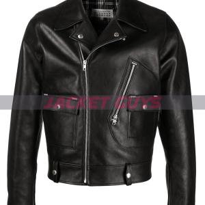 buy now mens biker leather jacket