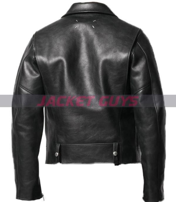 for sale mens biker leather jacket