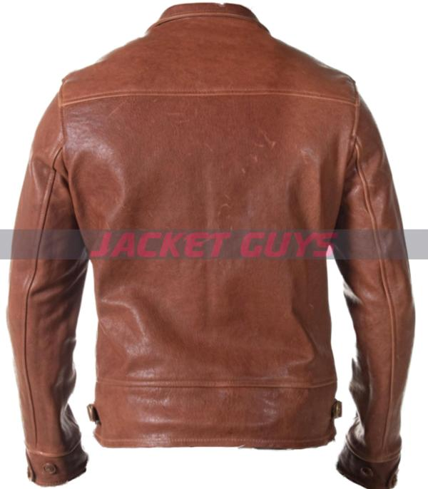 on sale trucker mens leather jacket