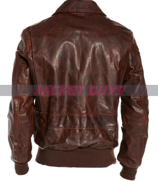 mens vintaged leather jacket on sale