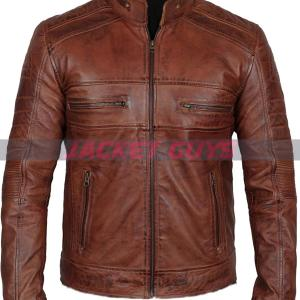 buy now men cafe racer leather jacket