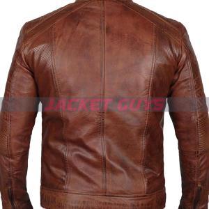 for sale men cafe racer leather jacket