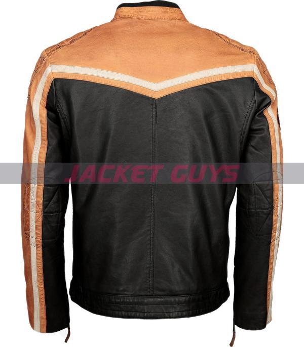 men cafe racer leather jacket on sale