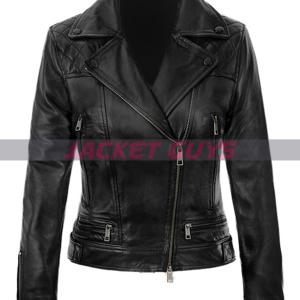 jennifer lawrence red sparrow leather jacket on sale