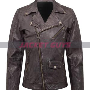 mens motorcycle leather jacket on sale