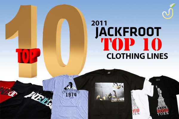 top 10 clothing lines 2011