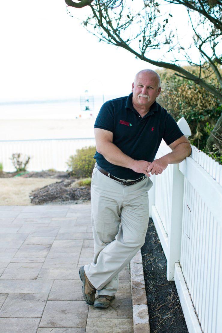 Learn about Jack Frost Garden Center in Virginia Beach - David Dubinsky Founder Jack Frost Landscaping