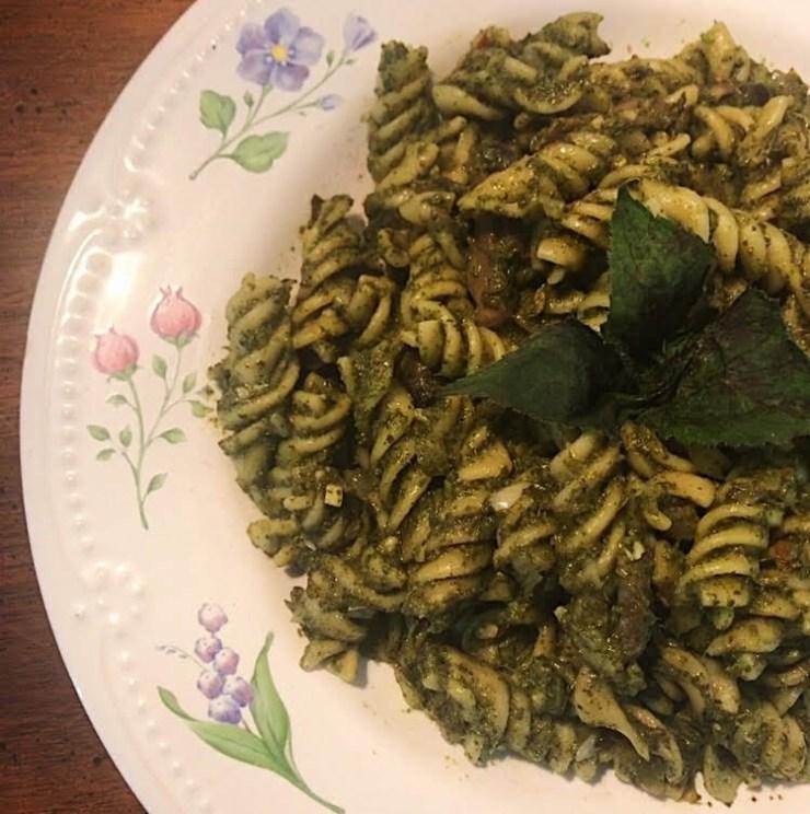 Edible Flowers - Bee Balm Pesto